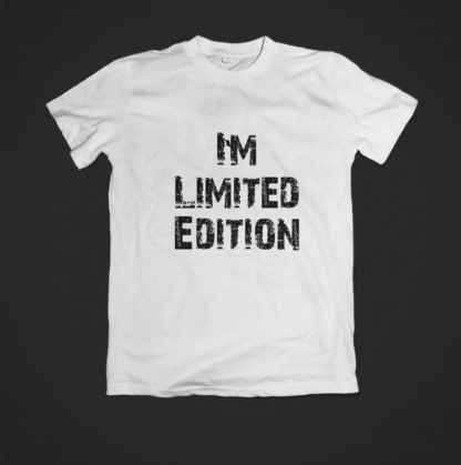 Tricou alb limited edition