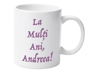 Cană nume Andreea