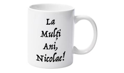 Cană nume Nicolae