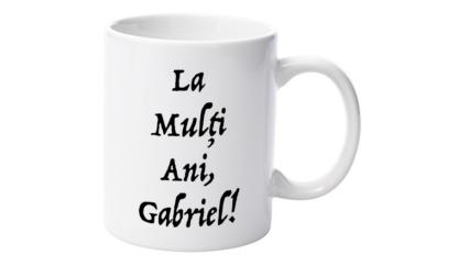 Cană nume Gabriel