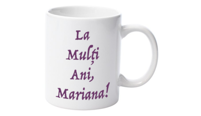 Cană nume Mariana