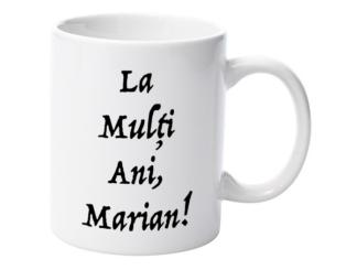 Cană nume Marian