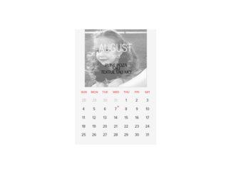 Calendar perete A4