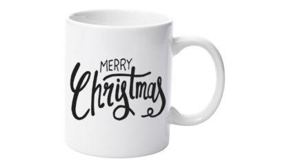 cana merry christmas font negru