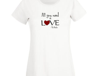 tricou all you need is love femei