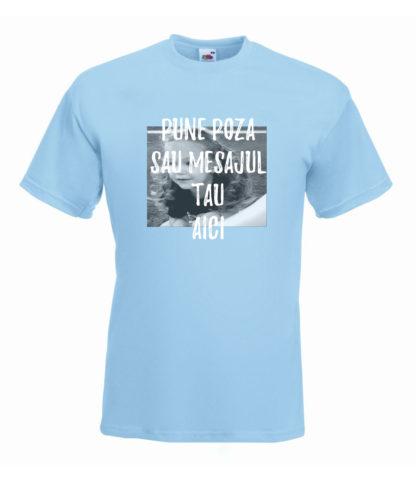Tricou bleu bărbați