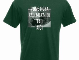 Tricou verde bărbați